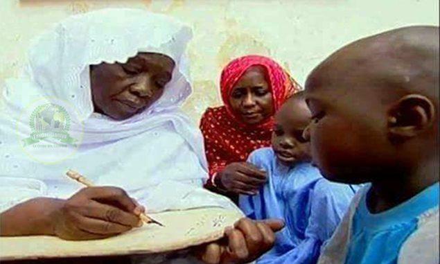 Cheikha Mariama Niass ensignait le noble Coran dés l'âge de 16 ans
