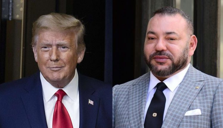 Donald Trump décerne la Légion du Mérite au roi Mohammed VI du Maroc