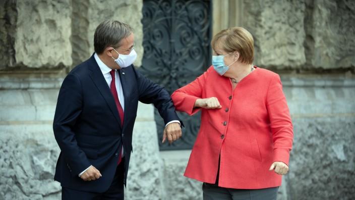 Allemagne: Armin Laschet succède à Angela Merkel à la tête du parti CDU