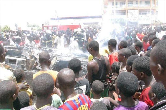 Kaolack : 7 morts et plusieurs blessés dans un accident à Daga Diakhaté