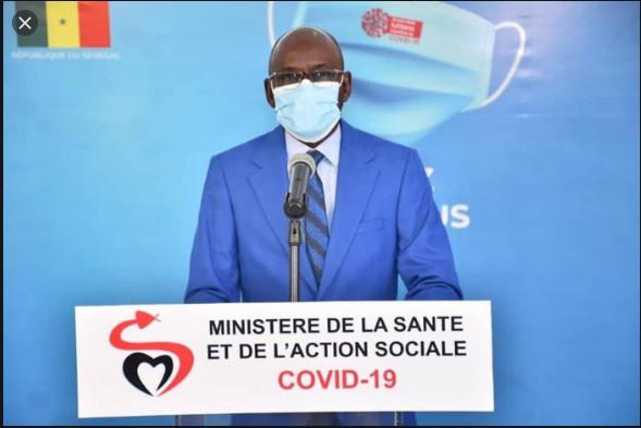 Covid-19: Le Sénégal enregistre 7 décès supplémentaires, 60 cas graves et 285 nouveaux cas positifs