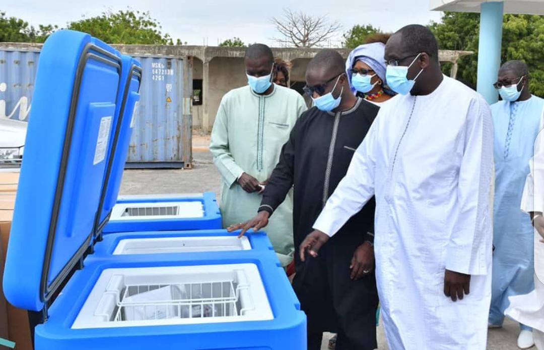 Vaccination : Le Sénégal s'équipe pour recevoir son premier lot de doses