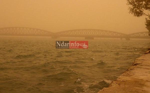 Mauvaise qualité de l'air : de la poussière jusqu'au weekend
