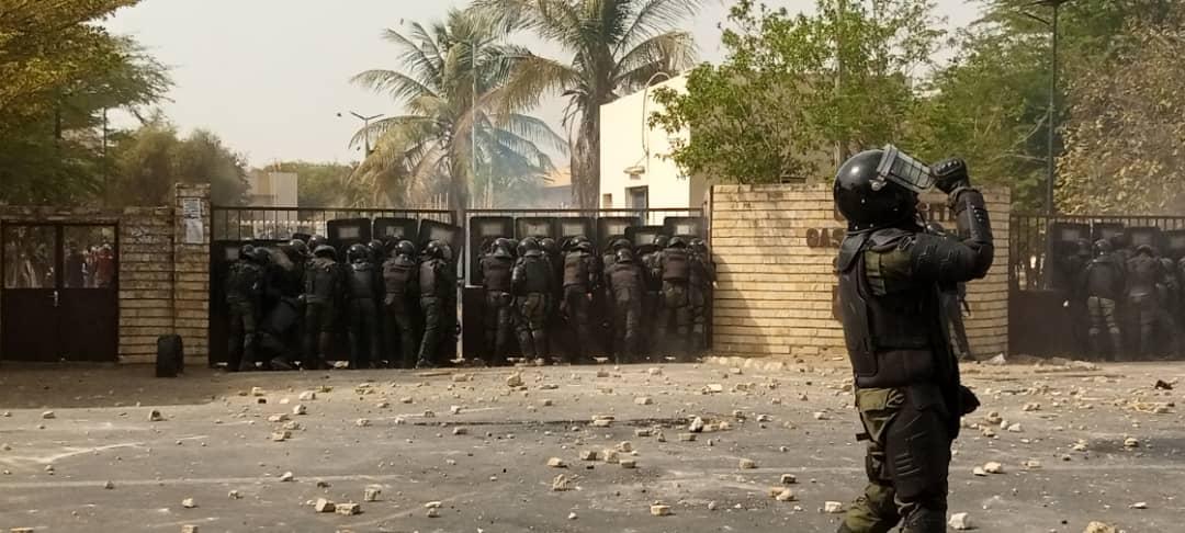 Arrestation d'Ousmane SONKO : nouvelle journée de tensions à l'UGB