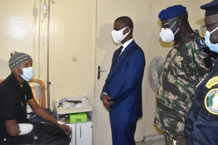 Manifestations au Sénégal : Antoine DIOME au chevet des blessés