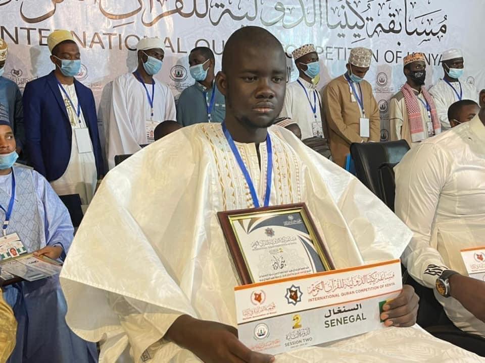 Le Sénégalais Cheikh Mouhamed Diop remporte la 2e place au Concours International de Coran