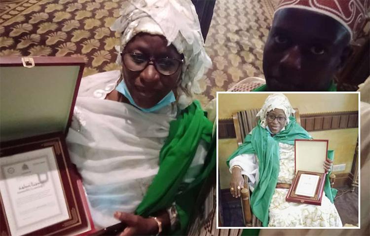 Sokhna Nafissatou DIOP primée meilleure Ndéyu Daara du Sénègal