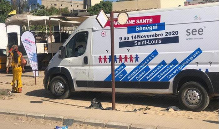 Consultations gratuites : la Fondation Sanofi Espoir et Santé en Entreprise prévoient 3 caravanes à Saint-Louis