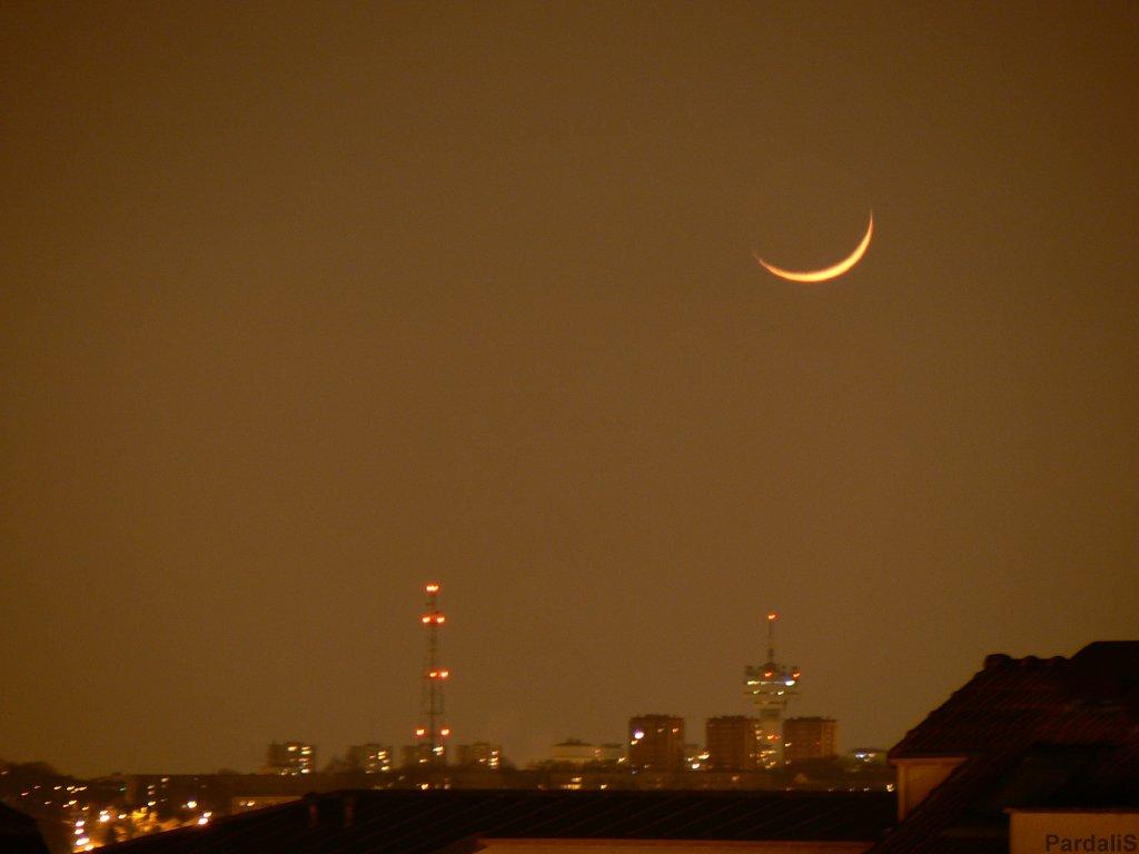 La lune sera visible à partir de mercredi soir, selon l'ASPA