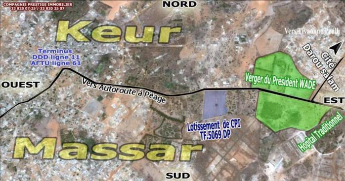 La création du département de Keur Massar officialisée