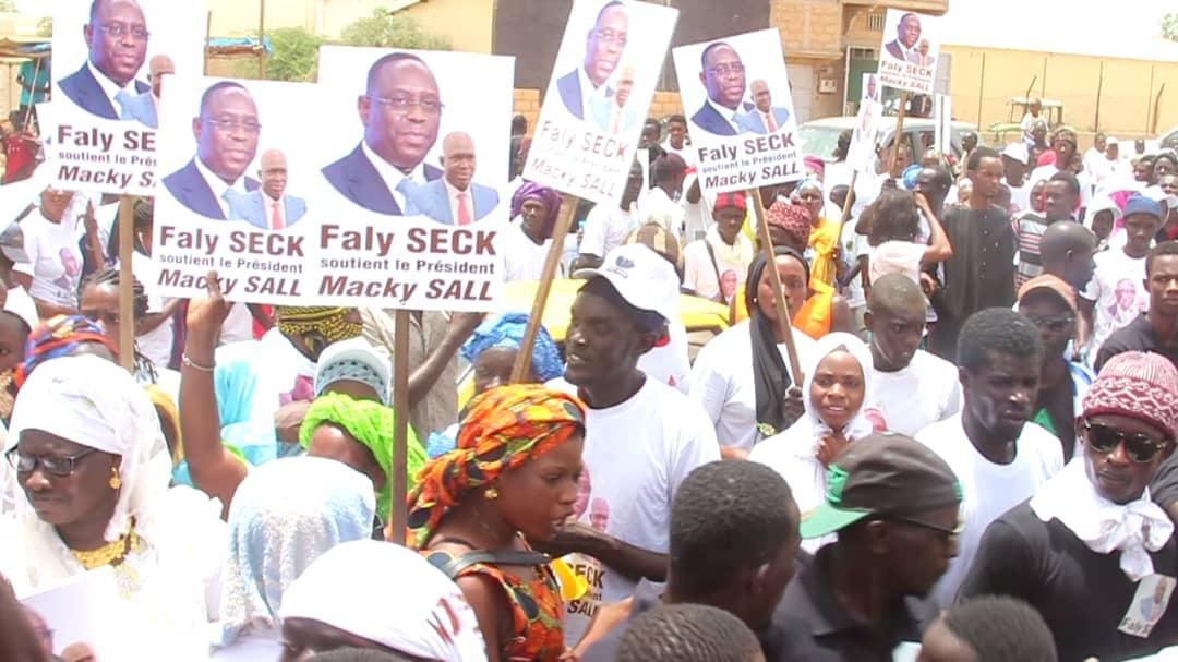 Accueil du Président Macky Sall : À Ross-Béthio, Faly SECK gagne le pari de la mobilisation (photos)