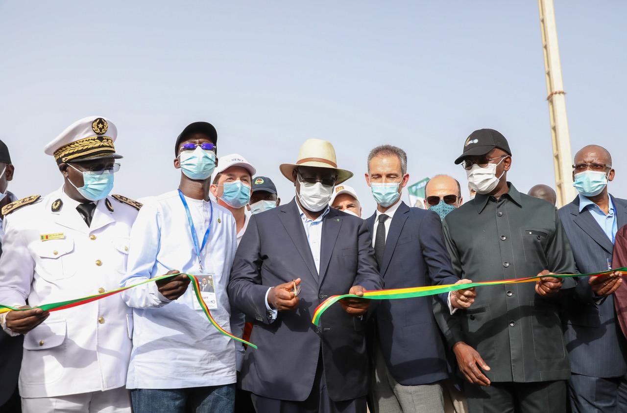 Macky Sall inaugure une troisième usine de traitement d'eau potable à Keur Momar Sarr