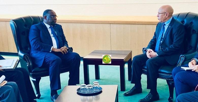 Macky Sall à Nouakchott pour une visite d'amitié et de travail