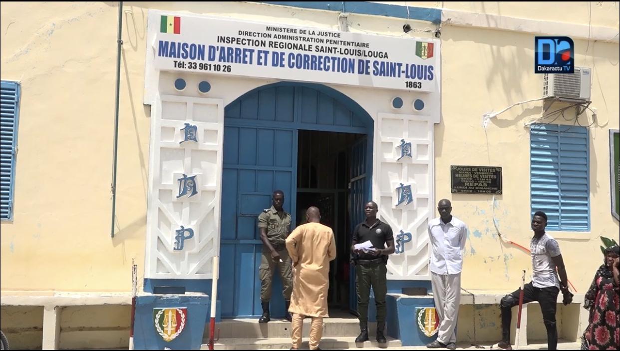 Coronavirus : Suspension des «visites» aux détenus