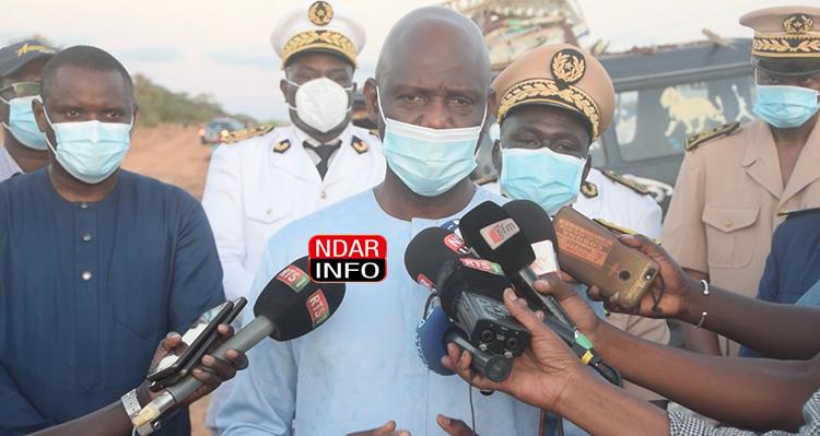 Accident à NDIOUM : le Gouvernement apporte son assistance aux familles des victimes