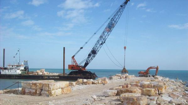 Mauritanie : l'Etat sécurise le domaine dévolu au port de Ndiago, actuellement en fin de construction