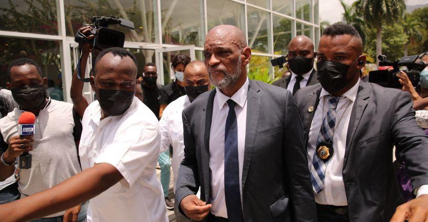 Le Premier ministre haïtien, Ariel Henry. © Orlando Barria/EFE/SIPA