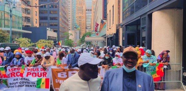 New-York : Farba Ngom et Gaston sortent une manne financière pour offrir un accueil populaire à Macky