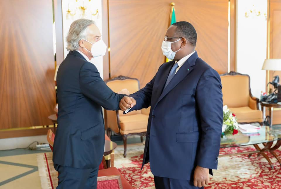 """Macky SALL salue une """"collaboration conviviale et efficace entre le Sénégal et le Tony Blair Institute """""""