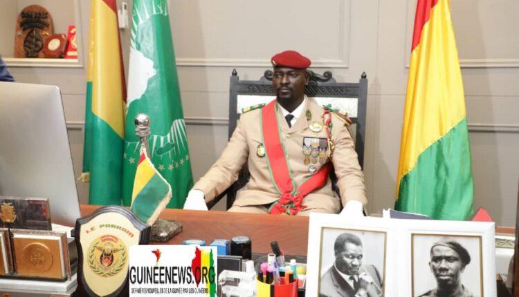 Guinée : le Colonel Doumbouya annonce l'organisation des élections de façon graduelle