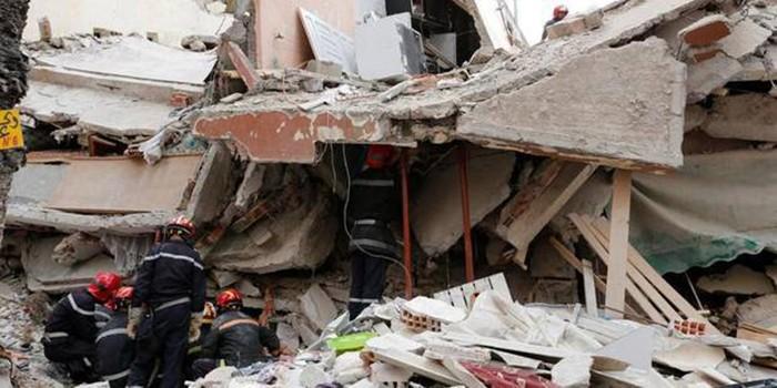 6 morts et plusieurs après l'éffondrement d'un immeuble à Hann-Bel-air