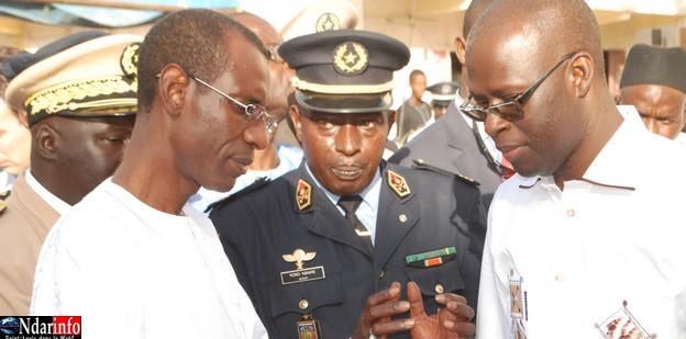 Saint-Louis : Abdoulaye Daouda Diallo promet l'ouverture d'une deuxiéme brigade de sapeurs-pompiers à Sor.