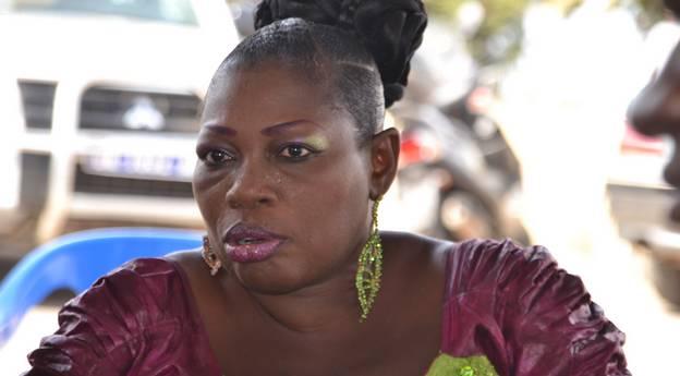 Diaw Guèye, la présidente de la section féminine de la Fédération régionale des personnes handicapées de Saint-Louis.