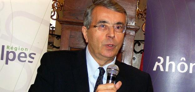 Le président de la région Rhône-Alpes en visite à Saint-Louis