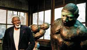 Ousmane Sow dédie son admission à l'Académie des Beaux-arts à Mandela