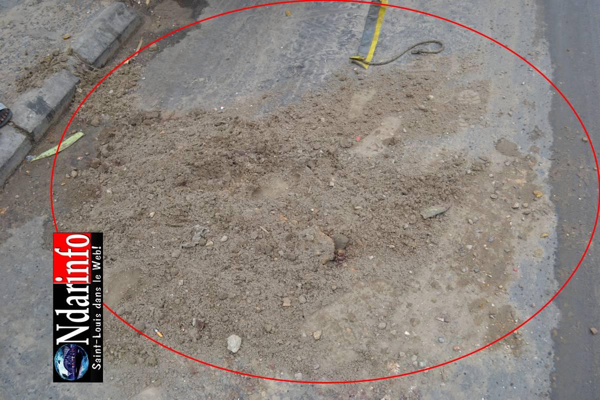 Accident macabre à Sor : un jeune a été mortellement fauché puis traîné par un camion.(Photos)