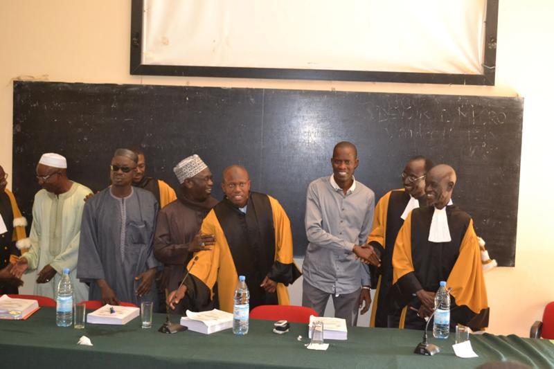 UGB - Thèse pour le Doctorat : Mention « Très bien » et les félicitations du Jury pour M. El-H Moctar Niane.