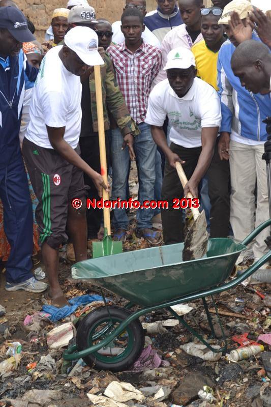 Lancement de l'opération « Ndar Sett Wecc » : « Cette action citoyenne sera pérennisée », selon Mansour Faye.