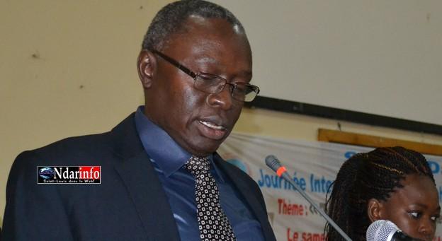 """Le recteur Lamine Guèye : """"l'année 2014 marquera un tournant décisif dans le développement"""" de l'UGB."""