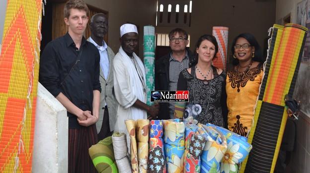 Remise de dons au Jardin d'Espoir de Saint-Louis : des partenaires européens touchés par le sort des Talibés.