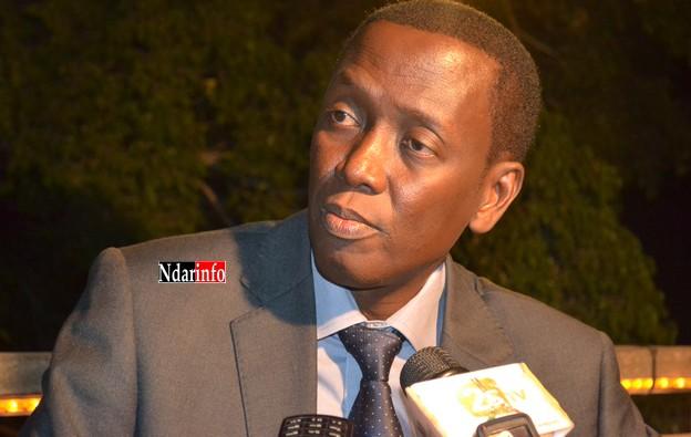 "Birame Ndeck Ndiaye, directeur du Crous : ""Je ne céderai pas à la pression""."