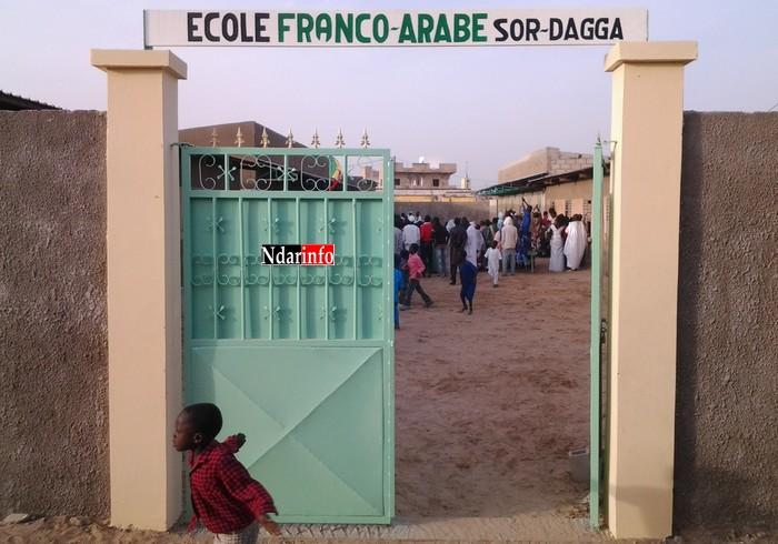 Saint-Louis - Sor Daga : la Commune construit un bloc sanitaire et réhabilite le mur de clôture de l'école franco-arabe.