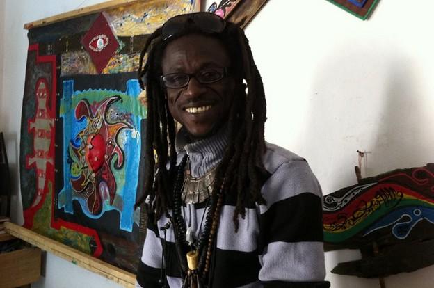CULTURE : exposition « du fleuve à l'océan » de l'artiste Iba Ndiaye, ce mardi 11 février 2014, à l'Institut Français.