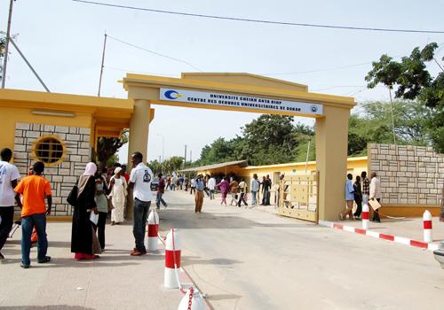 UCAD : les étudiants en grève pour réclamer leurs bourses
