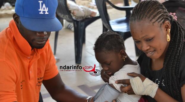 Saint-Louis : le Spécial Olympics Sénégal au chevet des enfants déficients intellectuels.