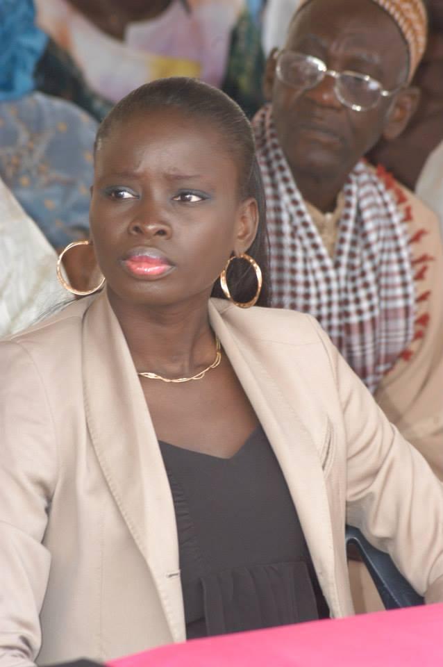 Madame Thérèse Faye Diouf, présidente des Jeunesses Républicaines