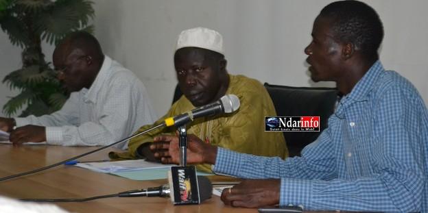 Saint-Louis – Santé : Le Sutsas en sit-in, ce lundi, au centre de santé Ousmane Ngom.