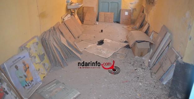 (Photos) L'état dégradant du Poste  de  Santé de Sindoné.