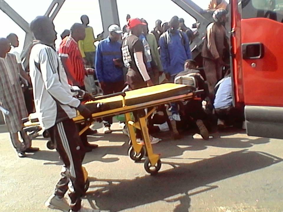 Urgent: un élève heurté par un car sur le pont Faidherbe.