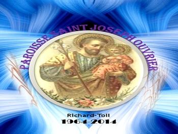 Saint-Louis : Cinquantenaire de la Paroisse Saint Joseph Ouvrier de Richard-Toll, du 02 au 04 mai 2014.