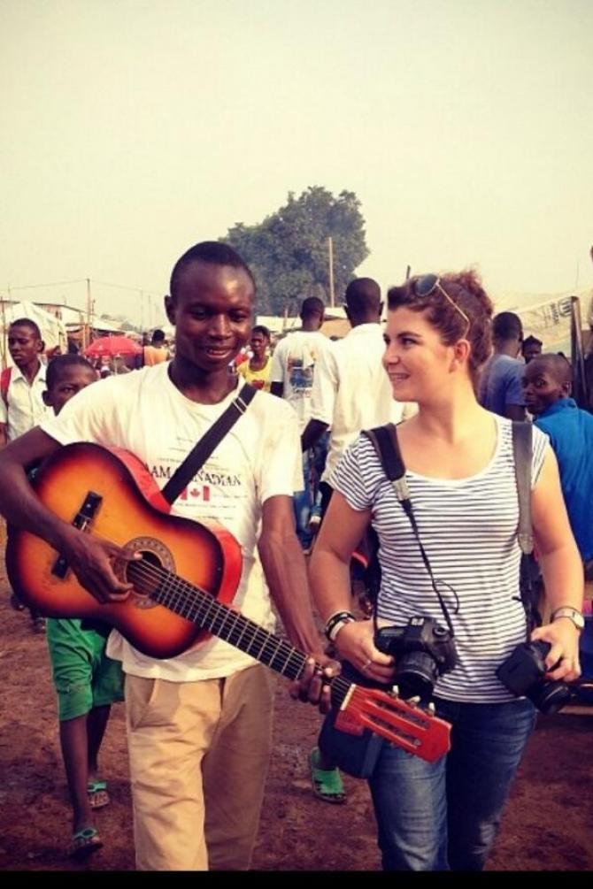 Une jeune photojournaliste française tuée en Centrafrique