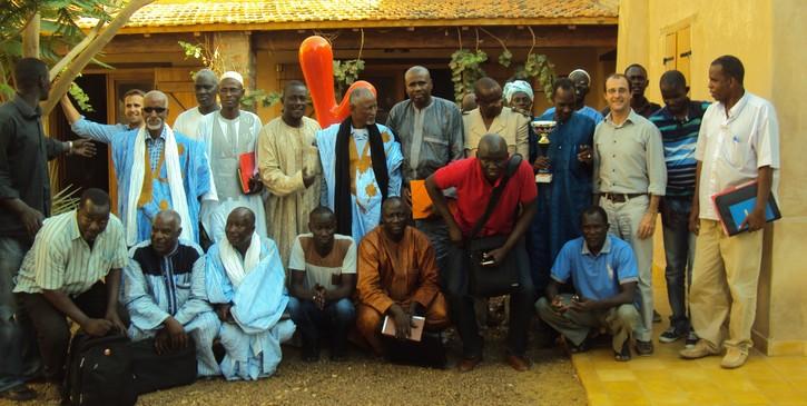 Atelier de partage d'expérience sur l'assainissement et les déchets pour des communes du Sénégal et de la Mauritanie.