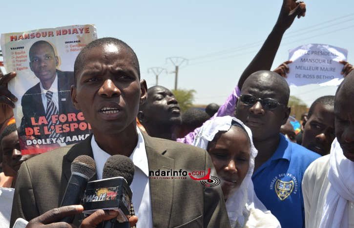 Saint-Louis : Mansour Ndiaye va lancer une coopérative alimentaire à Ross Béthio.