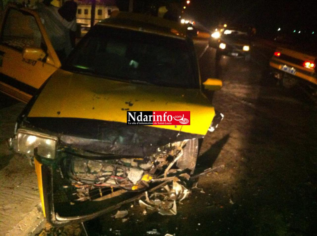 Saint-Louis : Un accident tragique à Léona, hier nuit (photos).
