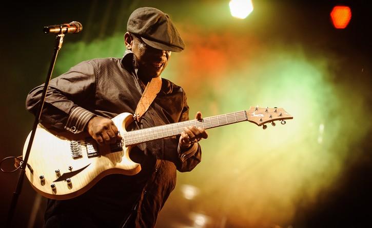 VIDÉO - 22ème festival de jazz de Saint-Louis : Voici la  tête d'affiche, le guitariste américain Lucky Peterson.
