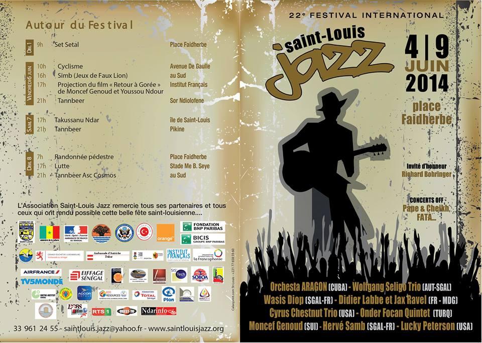 Voici le programme de la 22e édition du Festival de Jazz de Saint-Louis